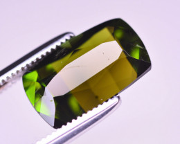 Stunning color 3.20 ct Natural Green Color Tourmaline ~ T