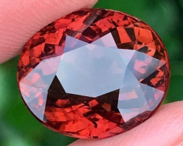 11.42cts  Red Tourmaline,  BIG Size,  Untreated