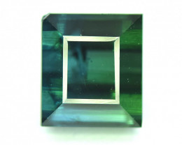 3.45 Carats Bluish Green Color Tourmaline Gemstone From AFG