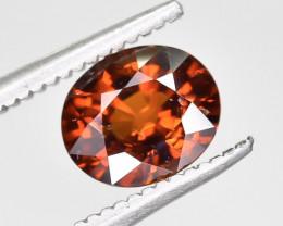 1.33 Crt Natural Spessartite Garnet Faceted Gemstone.( AG 74)