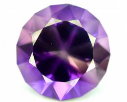 20.70 Carats Natural Top Color Fancy Cut Amethyst Gemstone