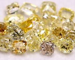 4.01Ct Fancy Intense Untreated Color Natural Diamond Auction Lot  BM40