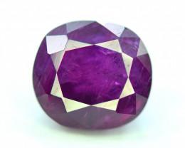 Rare 4.15 Ct Natural Corundum Purplish Pink Sapphire From Kashmir