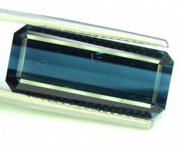 12.50 Carats Indicolite Tourmaline Gemstone