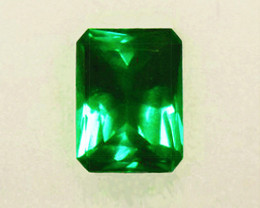 1.78 ct Magnificent Top Of The Line Zambian Emerald Certified!