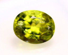 4.13Ct Natural Green Peridot Oval Cut Lot LZB505