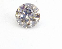 0.51ct Faint bluish Green  Diamond , 100% Natural Untreated