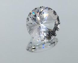 7.49 Carat VVS CERT. Danburite - Diamond White  Master Fantasy Cut Stunning