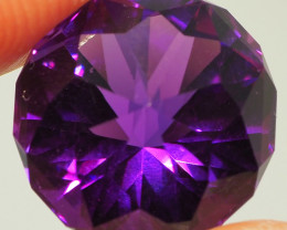 8.85CTS VVS AMETHYST QUALITY CUT  DEEP PURPLE  ME22