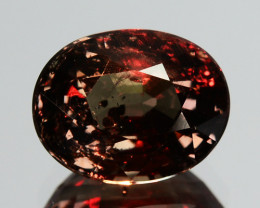 ~UNTREATED~ 1.95 Cts Natural Color Change Garnet Oval Tanzania