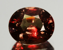 ~UNTREATED~ 1.91 Cts Natural Color Change Garnet Oval Tanzania