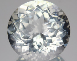 10.26 Cts NATURAL WHITE AQUAMARINE BRAZIL GEM