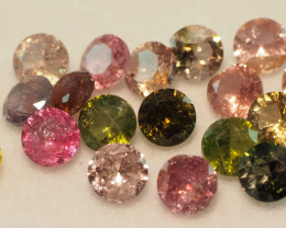 4.70CT MIXED FACETED PARCEL (17 STONES) ME32
