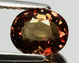 ~UNTREATED~ 2.14 Cts Natural Color Change Garnet Oval Tanzania