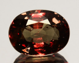 ~UNTREATED~ 2.56 Cts Natural Color Change Garnet Oval Tanzania