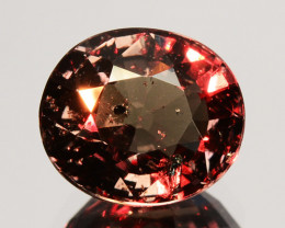 ~UNTREATED~ 2.43 Cts Natural Color Change Garnet Oval Tanzania