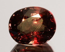 ~UNTREATED~ 3.09 Cts Natural Color Change Garnet Oval Tanzania