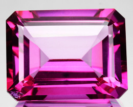 ~CANDID~ 27.89 Cts Candy Pink Natural Topaz 20x15mm Octagon Cut Brazil