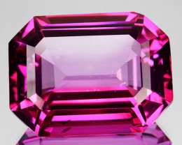 ~CANDID~ 24.85 Cts Candy Pink Natural Topaz 20x15mm Octagon Cut Brazil
