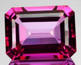 ~CANDID~ 29.18 Cts Candy Pink Natural Topaz 20x15mm Octagon Cut Brazil