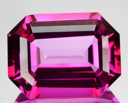 ~CANDID~ 25.94 Cts Candy Pink Natural Topaz 20x15mm Octagon Cut Brazil