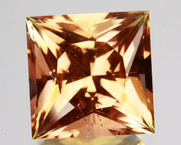 ~PRINCESS CUT~ 3.82 Cts Natural Oregon Sunstone Andesine USA