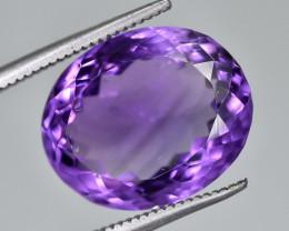 9.89 Crt Natural Amethyst Faceted Gemstone.( AG 75)
