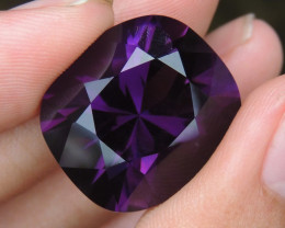 37.56cts, Amethyst,  Top Cut, Clean, Untreated,