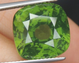 "14.81cts, ""Bananna Leaf Green"" Zircon"