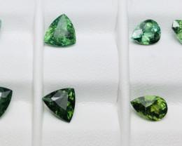 7.35 Carats Tourmaline Gemstones Parcel