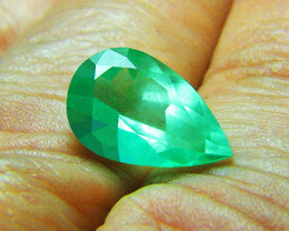 4.45 ct Gorgeous Colombian Emerald Certified!