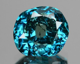1.53 Ct SPARKLING FANCY GREENISH BLUE COLOR NATURAL DIAMOND