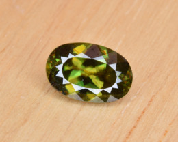 Natural Color Changing Chrome Sphene 1.51 Cts from Skardu, Pakistan