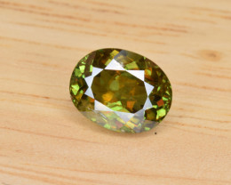 Natural Color Changing Chrome Sphene 2.12 Cts from Skardu, Pakistan
