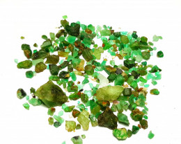 Lovely Natural color rough Emerald lot 115 Cts- Afghanistan