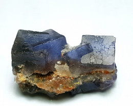Lovely color Damage free Double termination Fluorite  80Cts-Pak