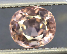2.25 Carat AAA Quality Baby Pink Color Natural Tourmaline Gemstone