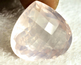CERTIFIED - 40.28 Carat Pink African Quartz - Superb