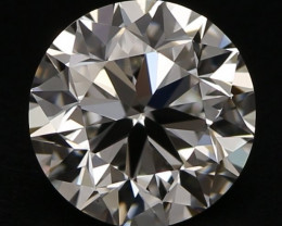 GIA Certified 0,40ct Round Natural Diamond