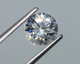 ⭐️SALE ! 2.24 Carat VVS Zircon - Diamond White Color Brilliant Flash  !