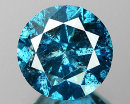 1.80 Cts Sparkling Fancy Intense Blue Color Natural Loose Diamond