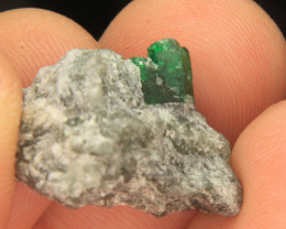 Wow Very Beautiful Swat Emerald Specimen From Pakistan