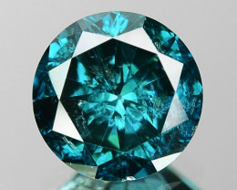 1.37 Cts Sparkling Fancy Greenish Blue Color Natural Loose Diamond