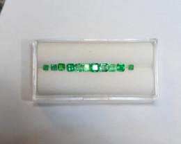 1.31 Carat Vivid Green Panjshir Emerald Lot