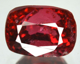 1.23 Cts Natural Spinel Red Spinel Cushion Burma Gem