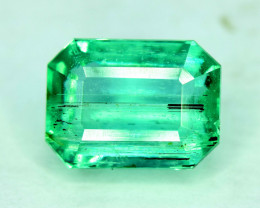 Certified 2.00 Carats Panjshir Emerald Gemstone