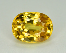 3.15 Ct Gorgeous Color Natural Yellow Zircon