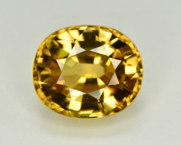 6.70 Ct Gorgeous Color Natural Yellow Zircon
