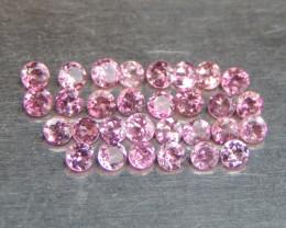 2mm  Pink Tourmaline