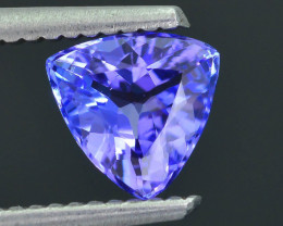 Tanzanite 0.99 ct eye catching Color SKU.14